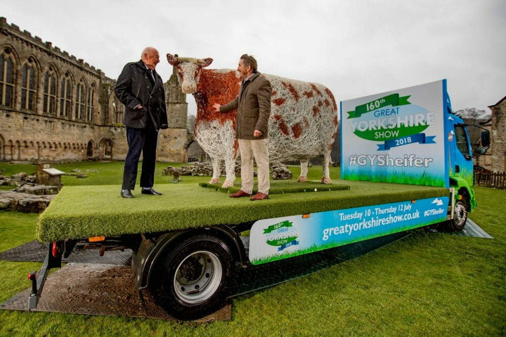 Unveiling the GYSheifer at Bolton Abbey