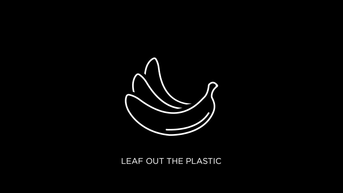 Leaf it Out: Supermarket Ditches Plastic!
