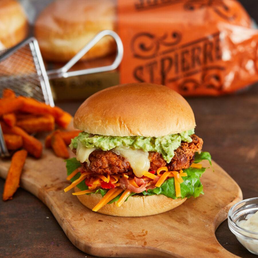 Fried Chicken Burger- 61