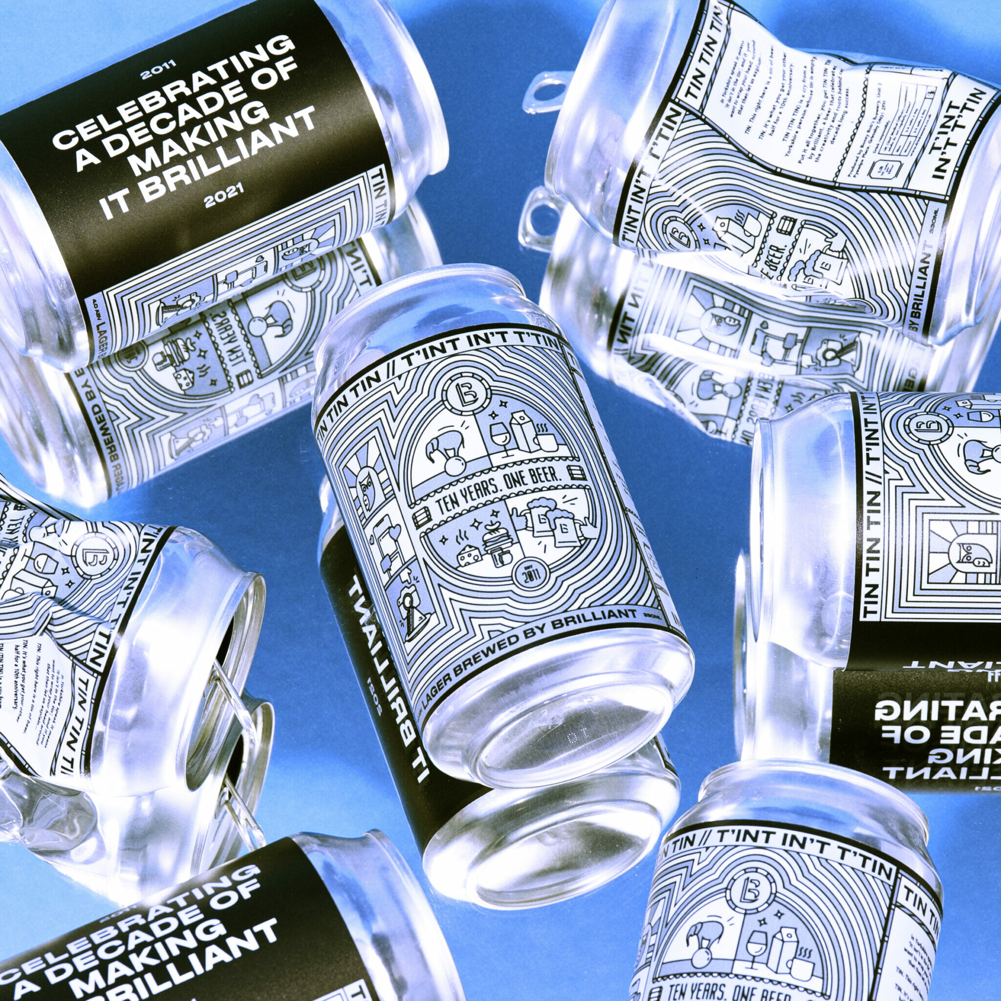 TIN TIN TIN – A Brilliant Beer to celebrate a decade of success!